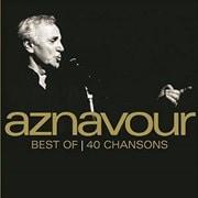 アズナヴール・ベスト40 (2枚組 ディスク1)