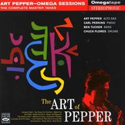 The Art Of Pepper-Omega Sessions:The Complete Master Takes
