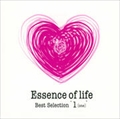 """Essence of life Best Selection """"1 (ONE)"""" (2枚組 ディスク1)"""