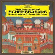 リムスキー=コルサコフ:交響組曲《シェエラザード》、スペイン奇想曲