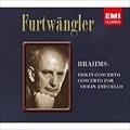 ブラームス:ヴァイオリン協奏曲&ヴァイオリンとチェロのための二重協奏曲 [SACDハイブリッド]