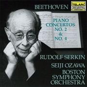 ベートーヴェン:ピアノ協奏曲第2番・第4番