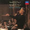 ベートーヴェン:交響曲第7番、ブラームス:交響曲第3番