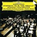 ハイドン:交響曲第96番《奇跡》、協奏交響曲