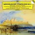 メンデルスゾーン:交響曲第3番《スコットランド》、序曲《真夏の夜の夢》、序曲《美しいメルジーネの物語》