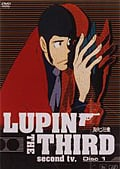 LUPIN THE THIRD second tv. Disc1