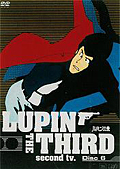 LUPIN THE THIRD second tv. Disc6