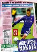 HIDETOSHI NAKATA VOLUME07 2004-2005 FIORENTINA
