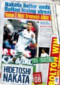 HIDETOSHI NAKATA VOLUME08 2005-2006 BOLTON