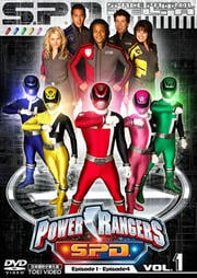 POWER RANGERS S.P.D. VOL.1