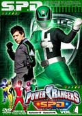 POWER RANGERS S.P.D. VOL.4