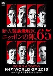 K-1 WORLD GP 2016 IN JAPAN 〜-65kg日本代表決定トーナメント〜 2016年3月4日 東京・国立代々木競技場第2体育館