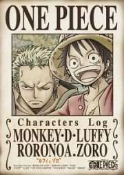 ONE PIECE CHARACTERS Log