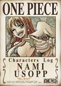 "ONE PIECE CHARACTERS Log ""ナミ&ウソップ"""