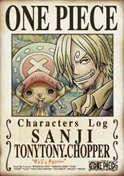 "ONE PIECE CHARACTERS Log ""サンジ&チョッパー"""